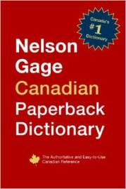 Nelson Gage Canadian Dictionary