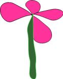 self-made flower